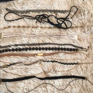 Jewelry - 8 Chokers for Sale